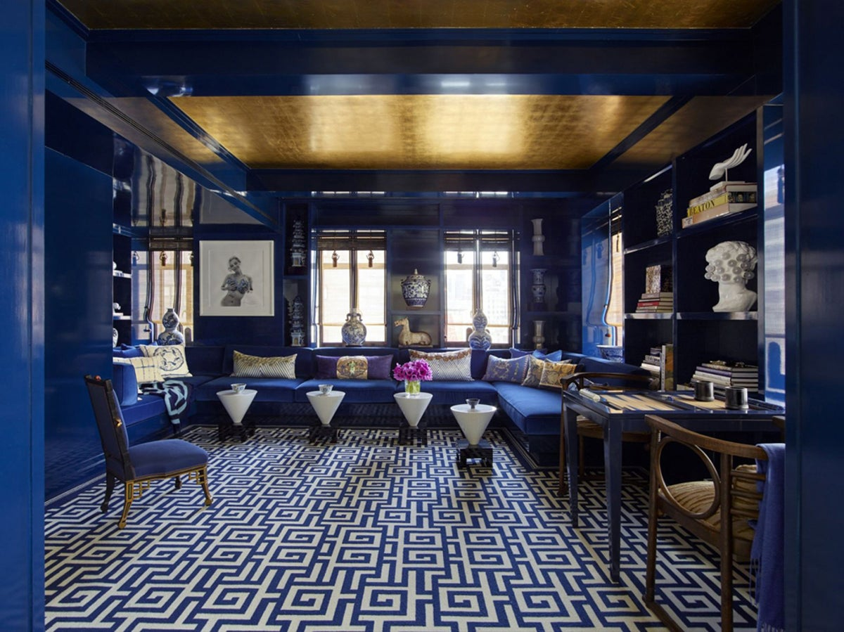 East meets west park ave apartment by kelly behun studio for Kelly behun studio