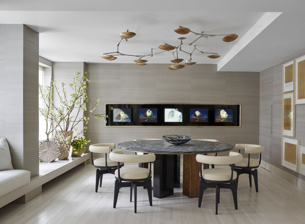 Contemporary Dining Room in New York  NY by Kelly Behun   STUDIO. Dining Room   Contemporary Dining Room in New York  NY by Kelly