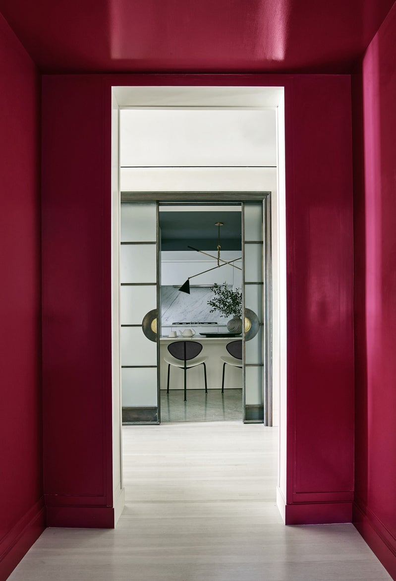 Vestibule contemporary entry and hall in new york ny by for Kelly behun studio