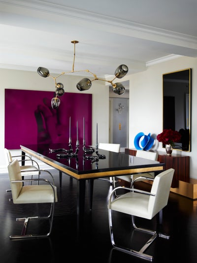 Downtown meets uptown park ave apartment by kelly behun for Kelly behun studio