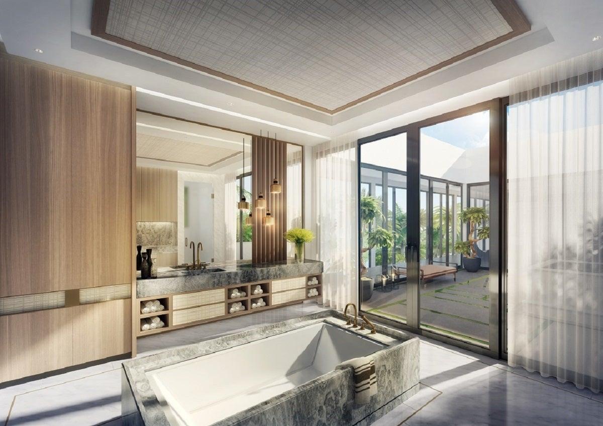 contemporary bathroom in miami fl by argent design custom bathroom design ideas the tailored pillow of