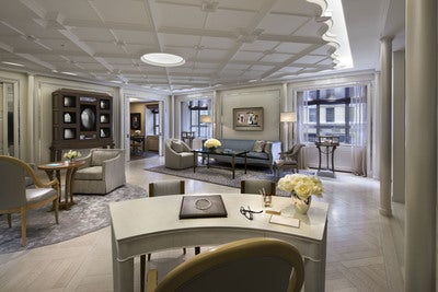 Tiffany Mezzanine Salon by Robert A.M. Stern Architects