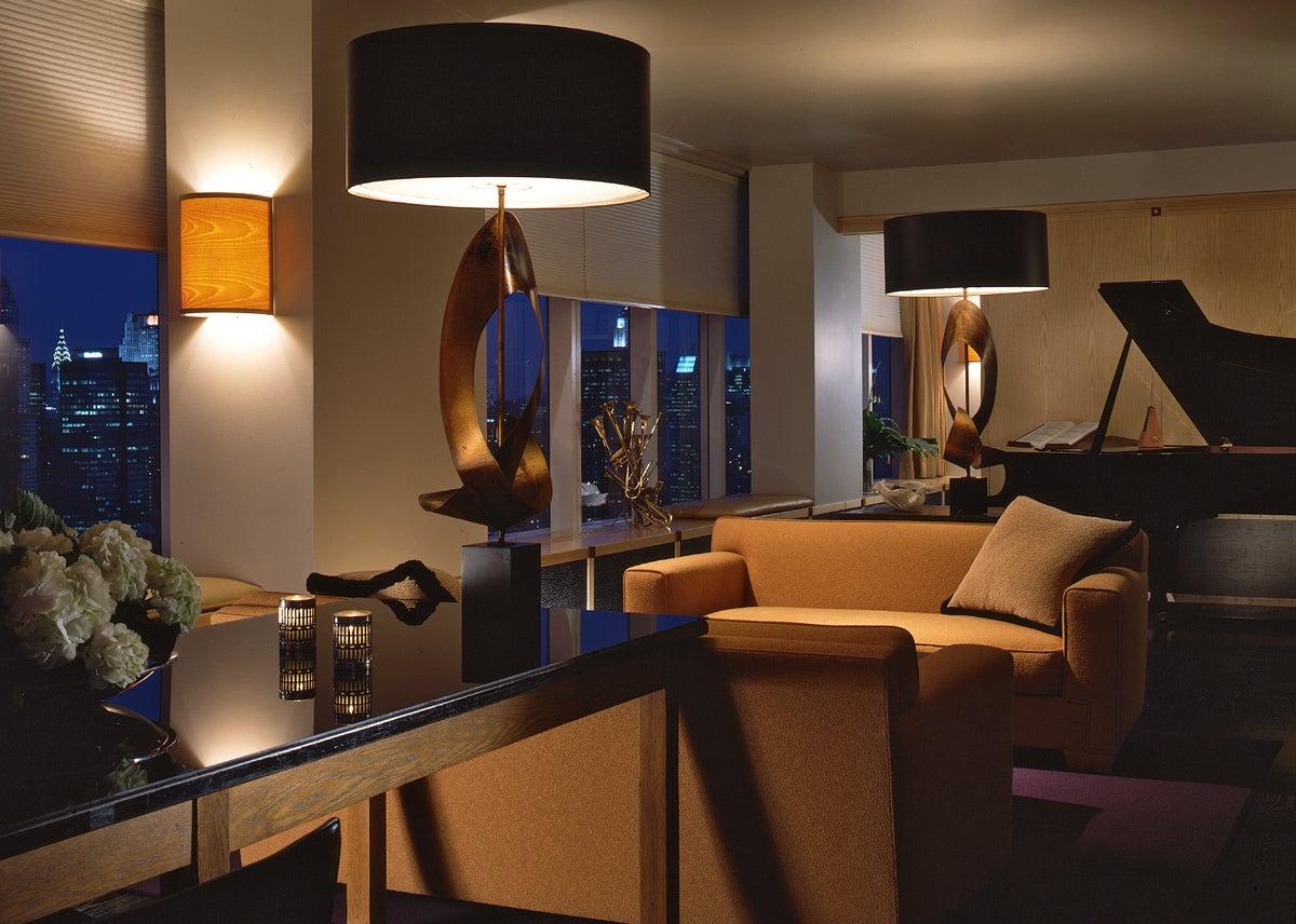 Woody Allen Living Room