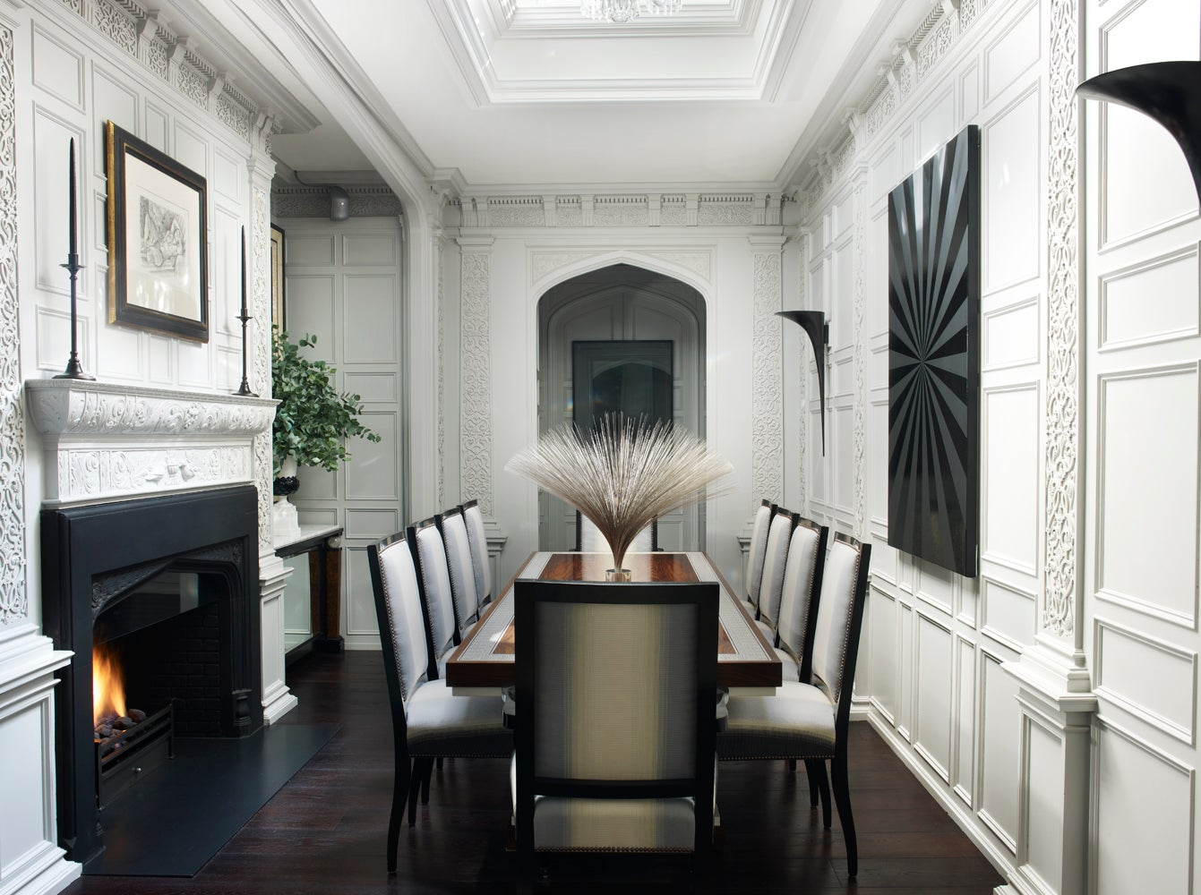 South Barrington Dining Room Project: Regent's Park Grand House By Hubert Zandberg Interiors On