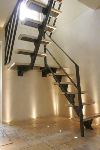 Regency terraced house by riviere interiors for Escaleras metalicas homecenter
