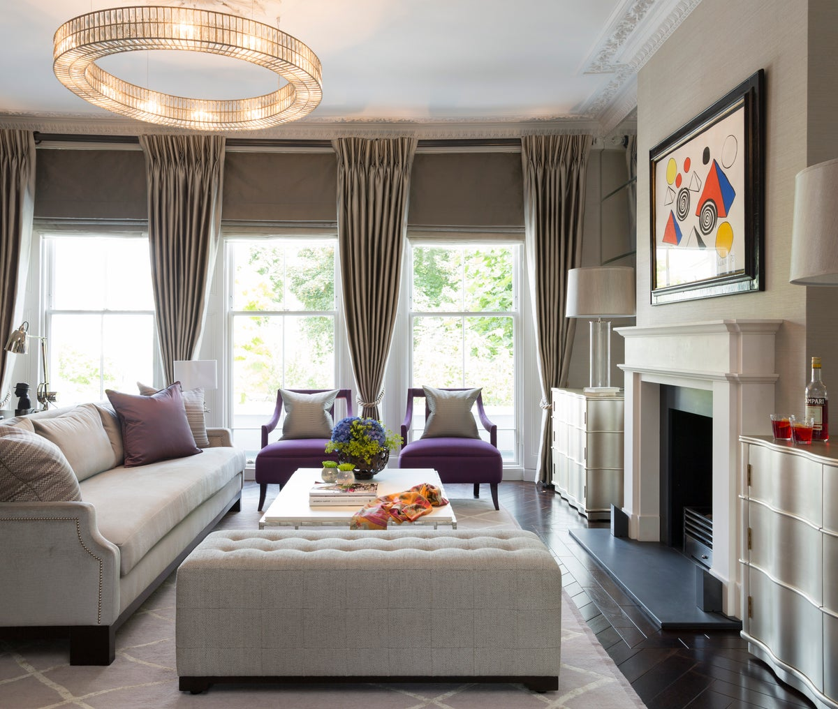 Chalcot square by taylor howes for Interior designs london