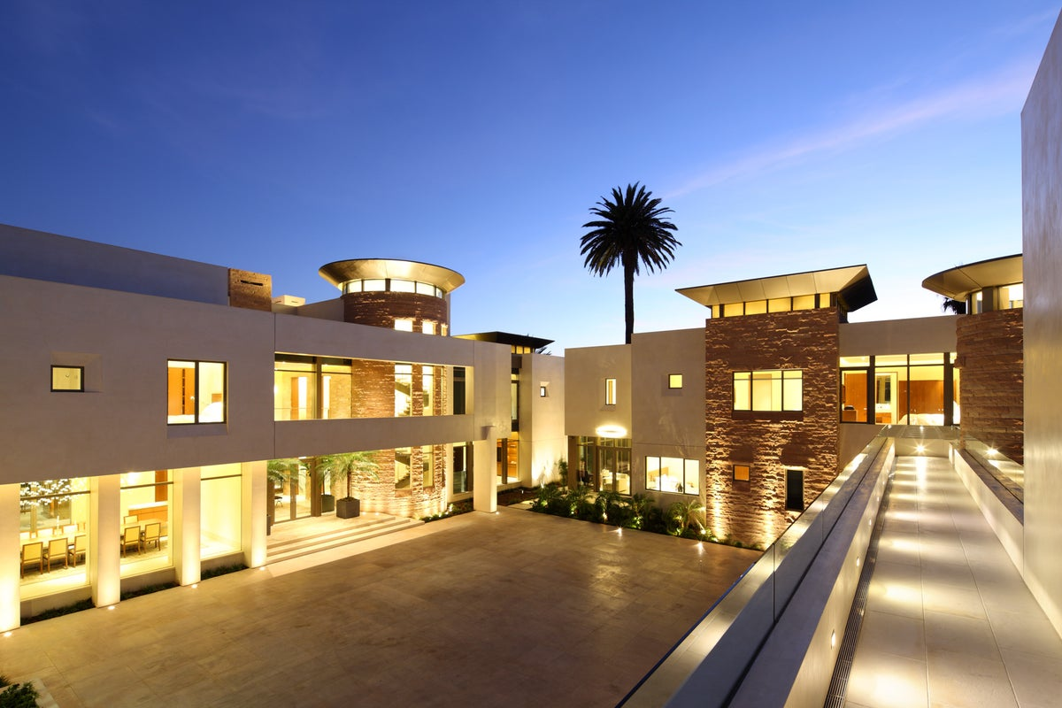Kfa residence by landry design group inc for Estate jewelry los angeles