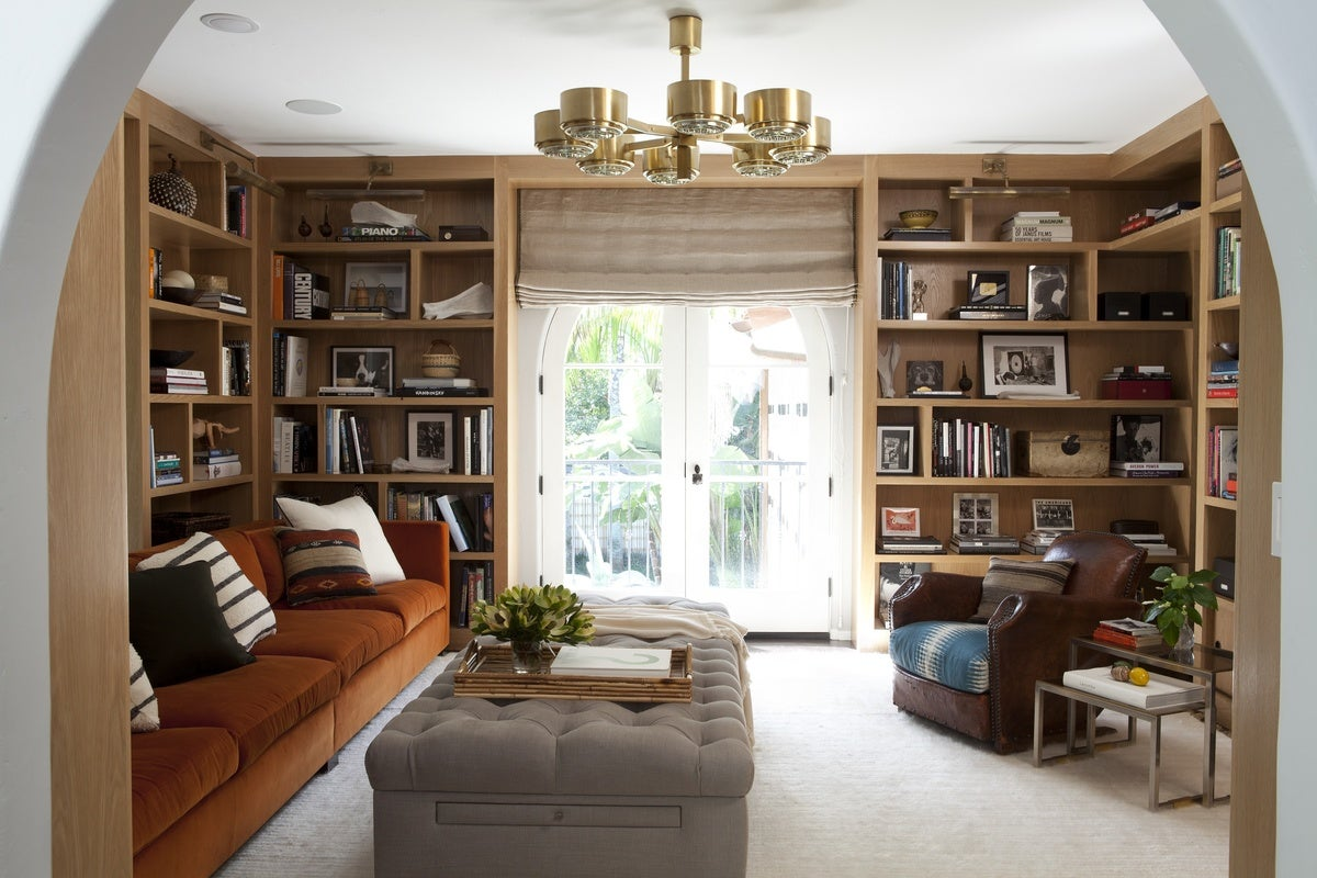 Contemporary Office And Study In US By Nate Berkus Associates