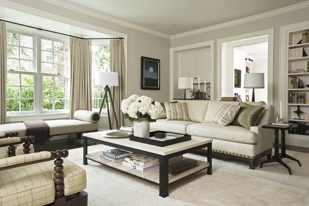 Living Room Country Living Room In East Hampton Ny By Groves Co