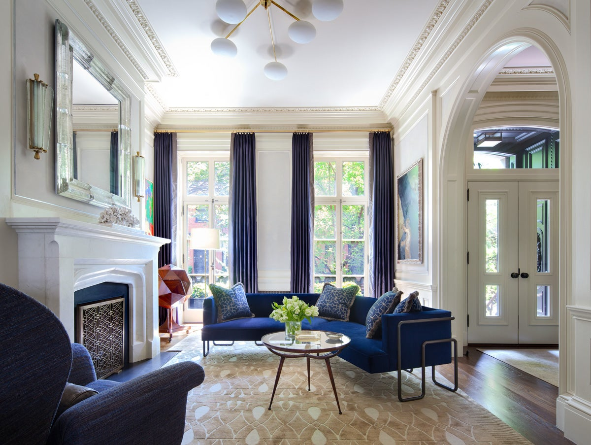 Parlor eclectic living room in new york ny by shawn for Interior design nyc