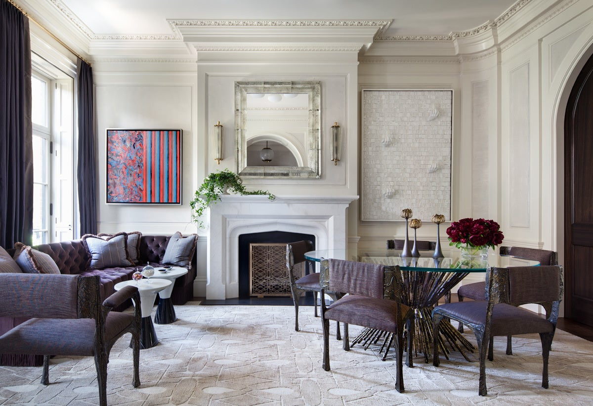 West village townhouse by shawn henderson interior design - Enterear design ...