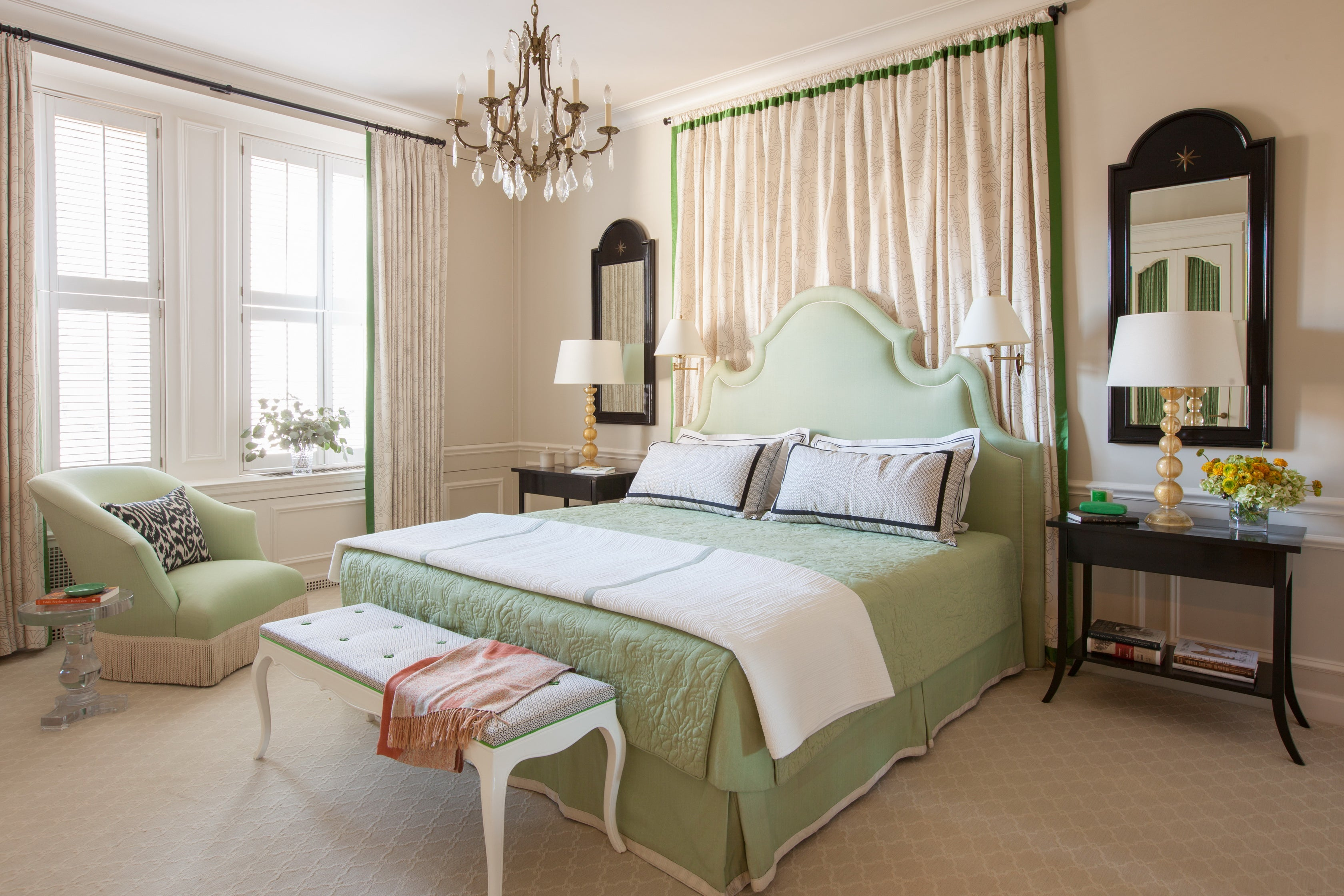 Hollywood Regency Bedroom In US By Brockschmidt U0026 Coleman LLC