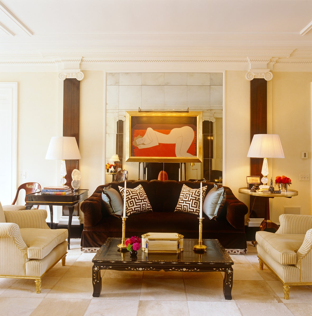 Nyc apartment by brian j mccarthy inc for The family room troy ny