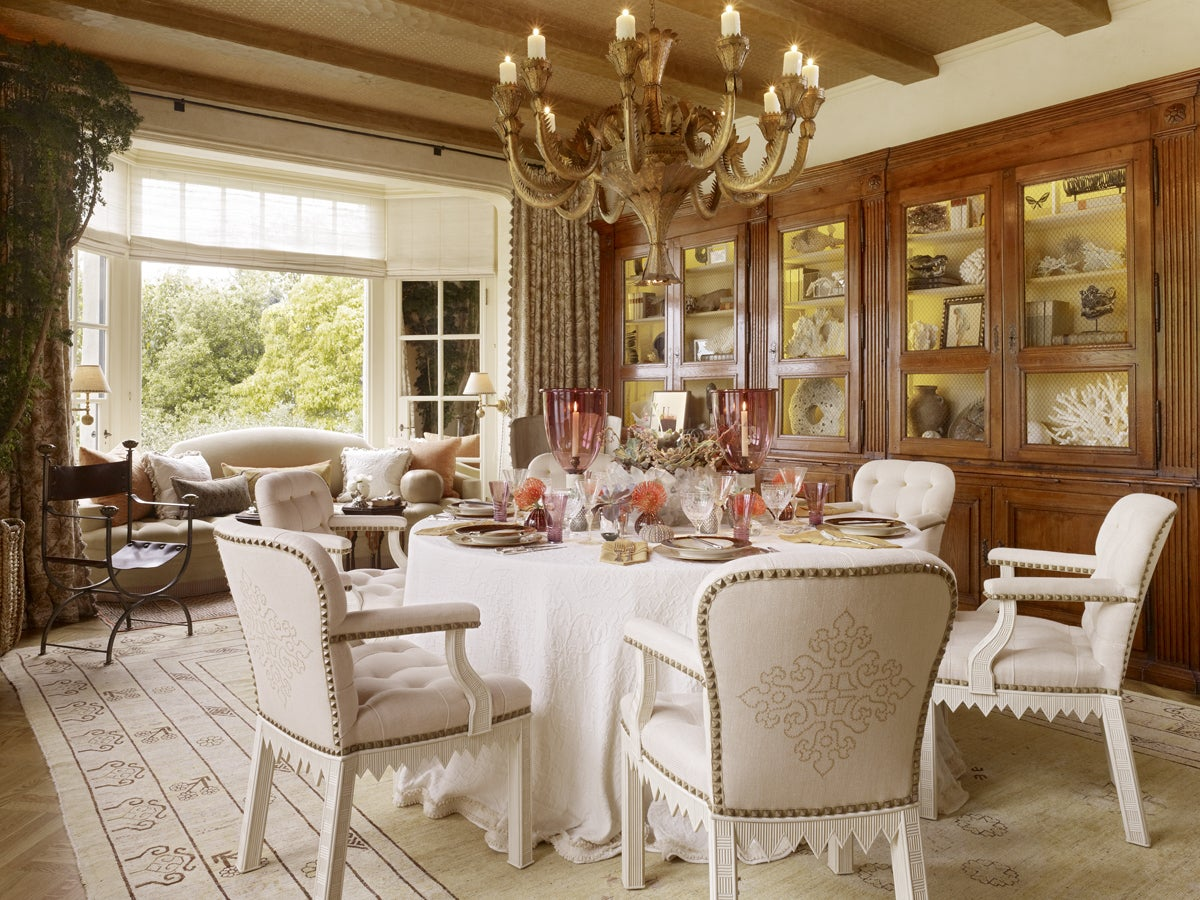Showcase dining room by suzanne tucker tucker marks - Dining room showcase designs ...