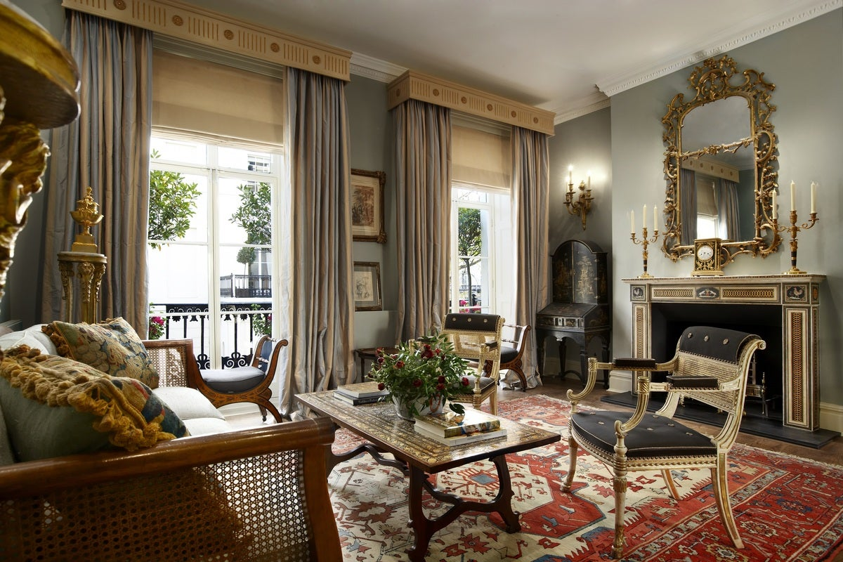 Eclectic living room in london gb by devas designs for London living room ideas
