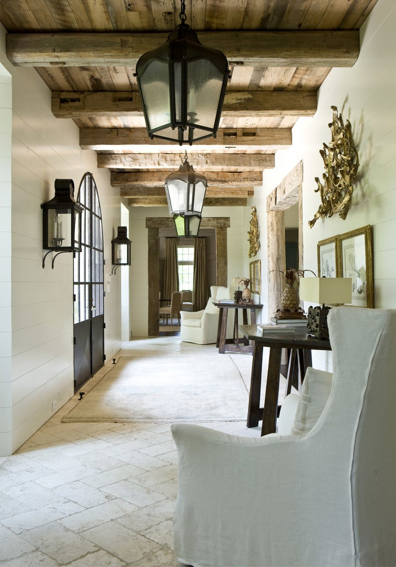 Suzanne Kasler Country Entry And Hall In Ussuzanne Kasler Interiors