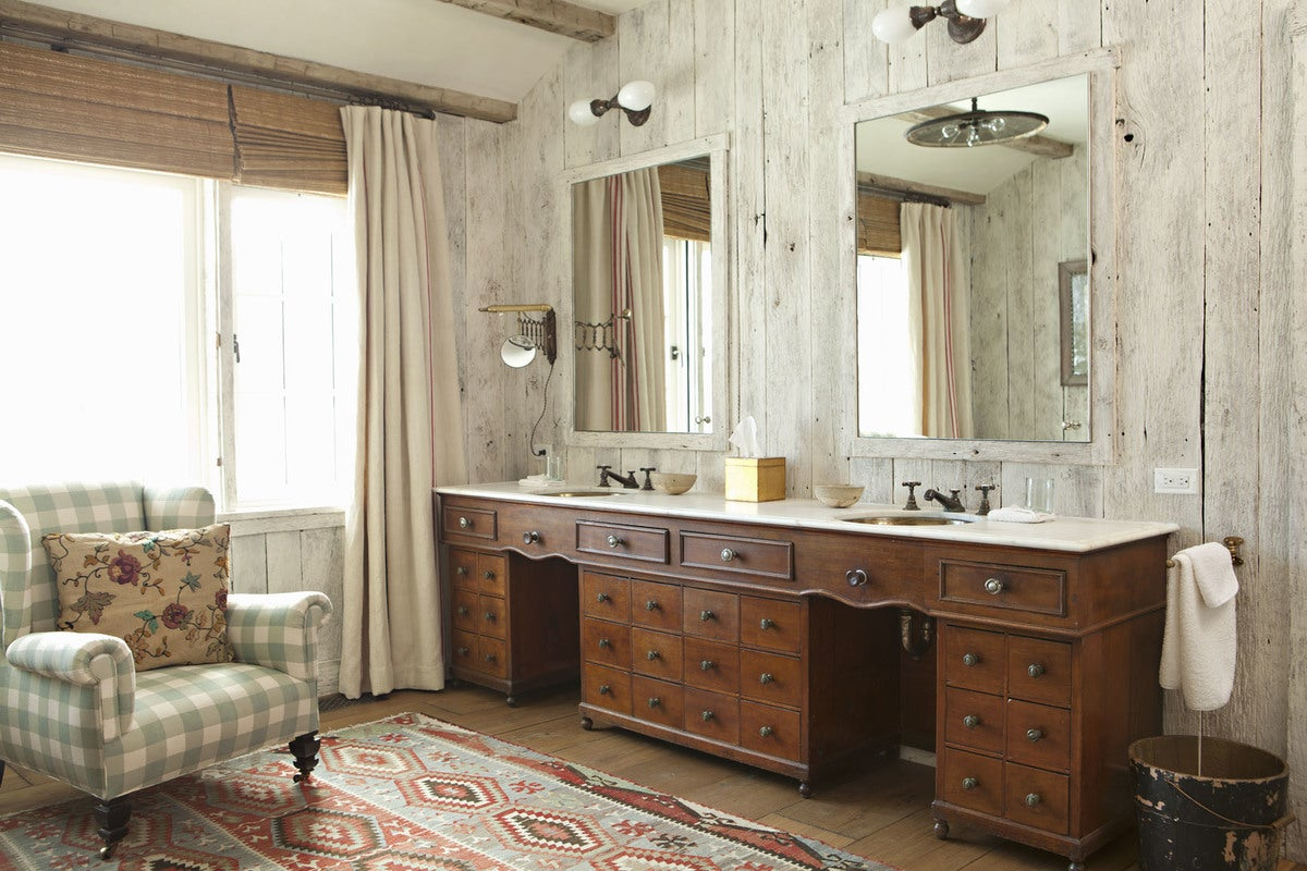Peterdunham Farmhouse Bathroom In Aspen Co By Peter Dunham Design