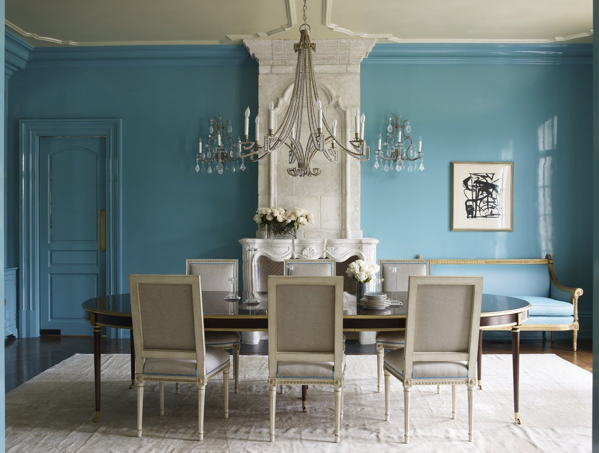 french dining room in greenwich ct by suzanne kasler