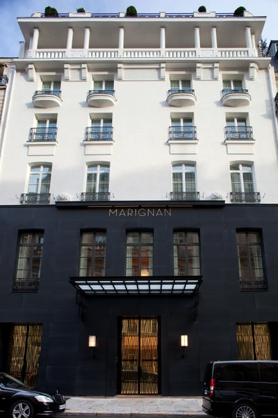 hotel marignan by pierre yovanovitch architecture d 39 int rieur. Black Bedroom Furniture Sets. Home Design Ideas