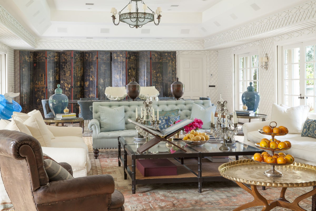 Hollywood Regency Living Room in Beverly Hills, CA by ...