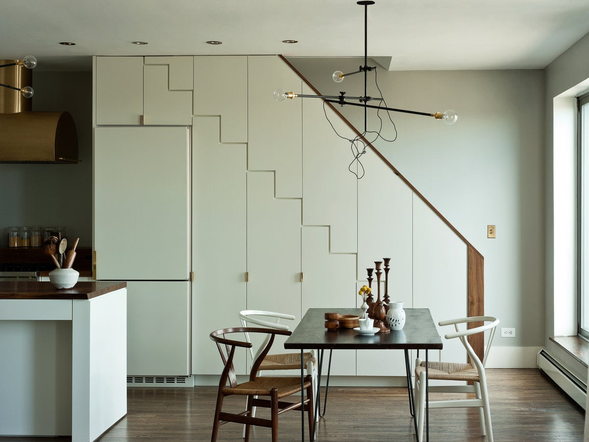Industrial Dining Room In Brooklyn, NY By Workstead