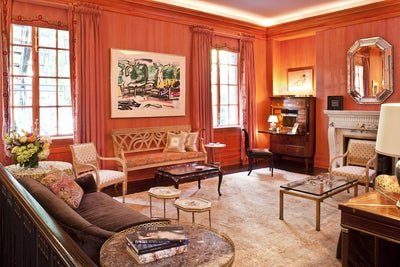 Traditional living room in napa ca by fisher weisman for Artful decoration interiors by fisher weisman