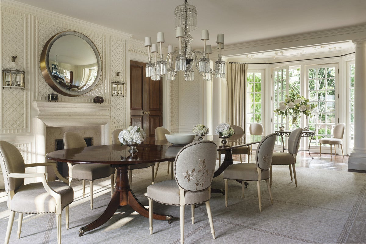 Traditional Dining Room in US by Thomas