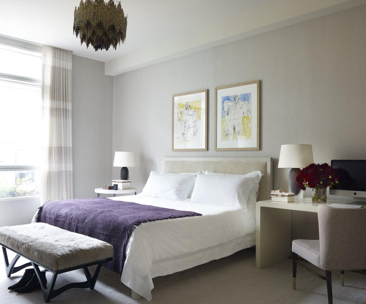 Modern Bedroom In New York NY By Shawn Henderson Interior Design
