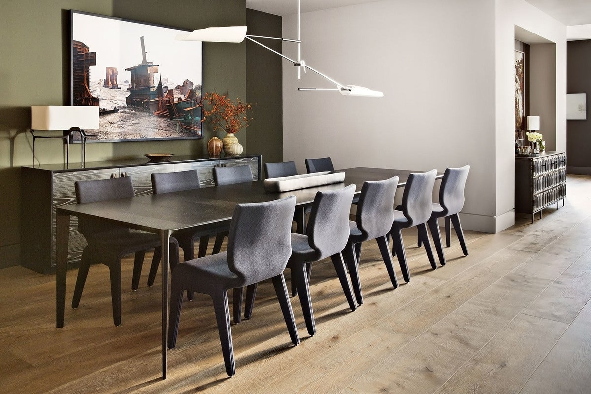 Modern Dining Room in New York  NY by Shamir Shah Design. Dining   Modern Dining Room in New York  NY by Shamir Shah Design