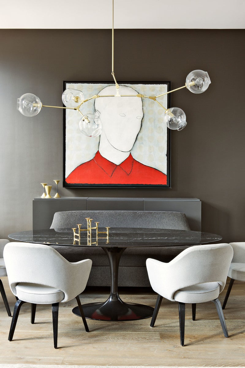 Modern Living Room In New York, NY By Shamir Shah Design