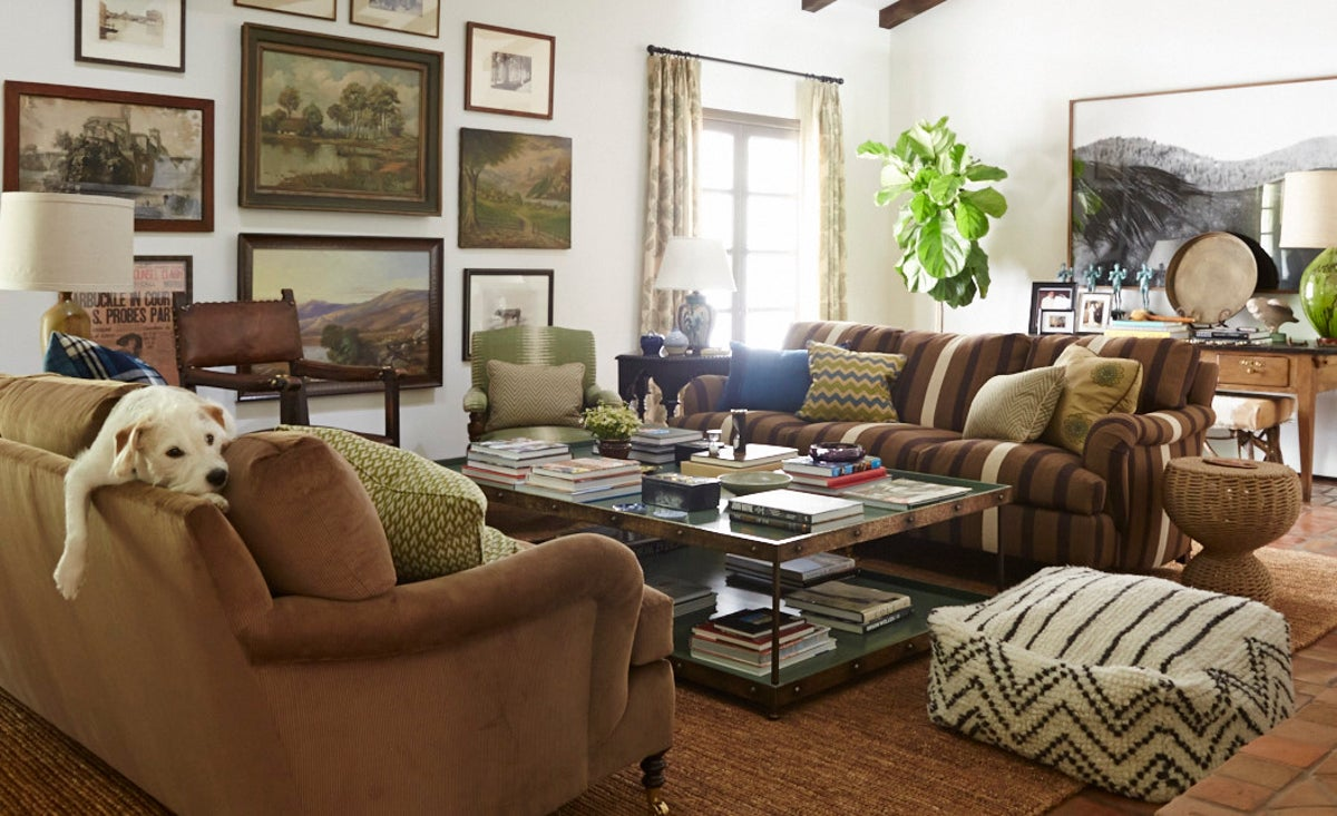 Southwestern Living Room In Los Angeles Ca By Nathan Turner Inc