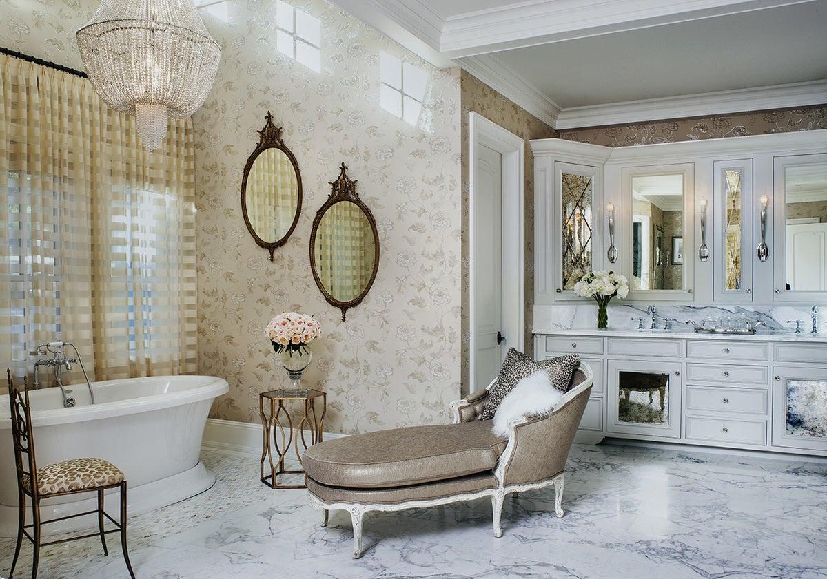 Traditional Bathroom In Hidden Hills Ca By Jeff Andrews Design