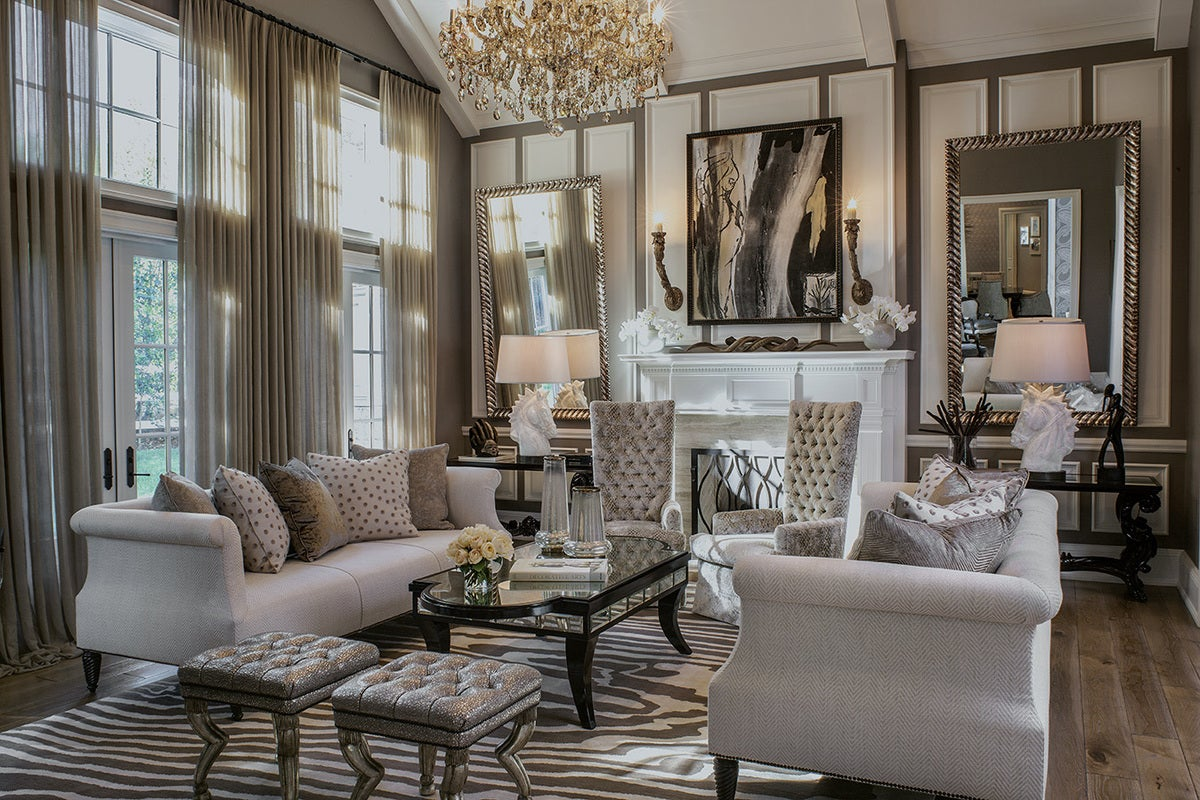 Traditional Living Room In Hidden Hills, CA By Jeff Andrews   Design
