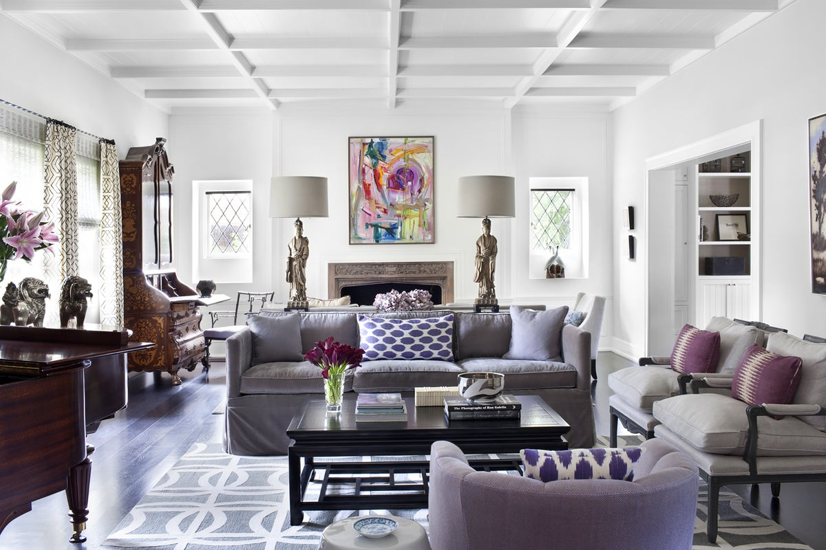 Traditional Living Room In Beverly Hills, CA By Burnham Design Part 47