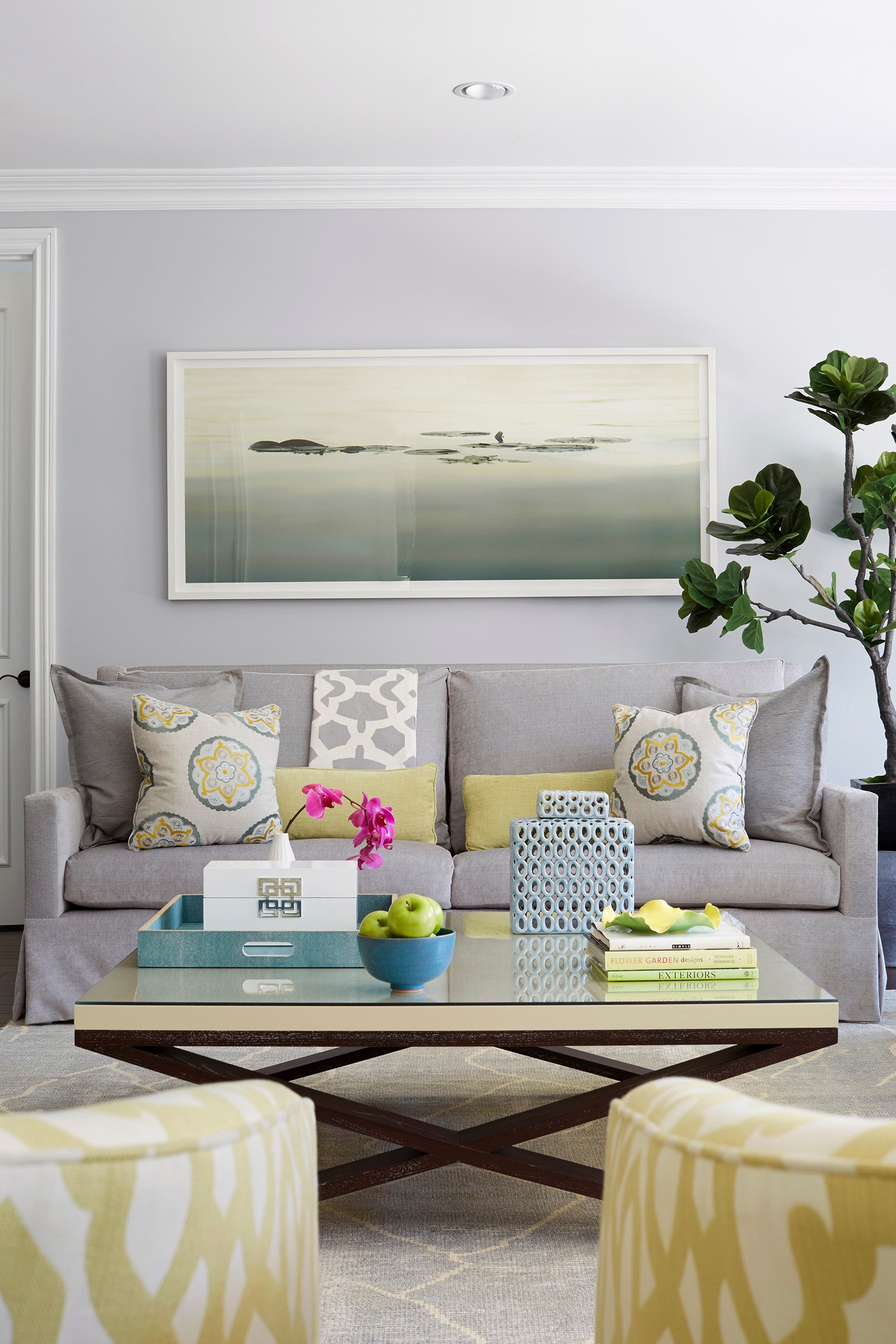 Living Room Art By Jennifer Davis Interior Design On 1stdibs