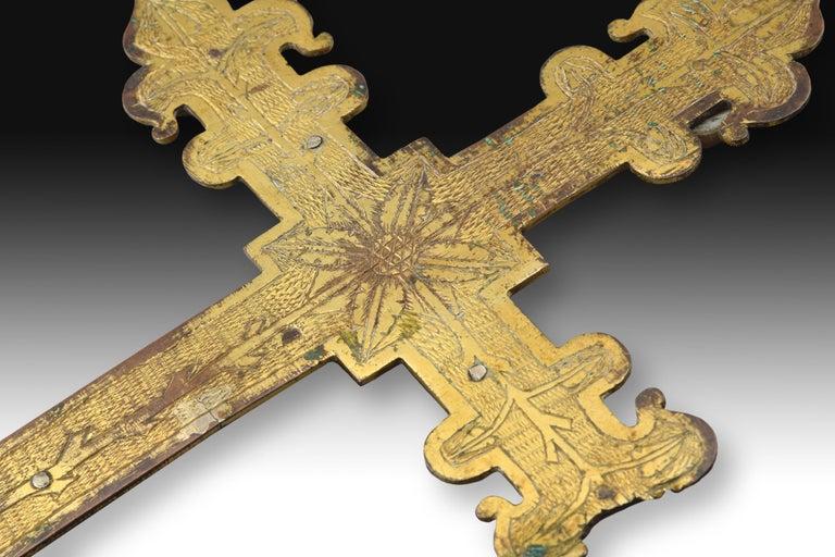 A 14th Century Cross Processional Cr...