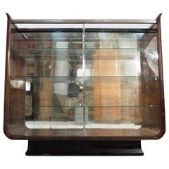 Produkte Art Deco Tulip Display Cabinet by J. Halabala for UP Zavody, 1930s
