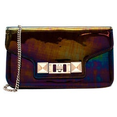 Proenza Schouler Cross Body Metallic Bag