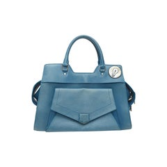 Proenza Schouler Light Peacock Small Vachetta Tote