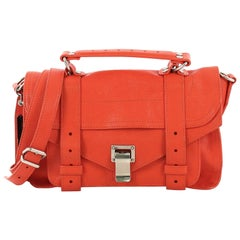 Proenza Schouler PS1 Satchel Leather Tiny