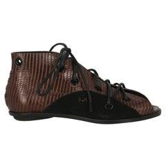 Proenza Schouler Women  Sandals Black Leather IT 37