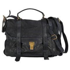 Proenza Schouler Women  Shoulder bags  Ps1 Navy Leather