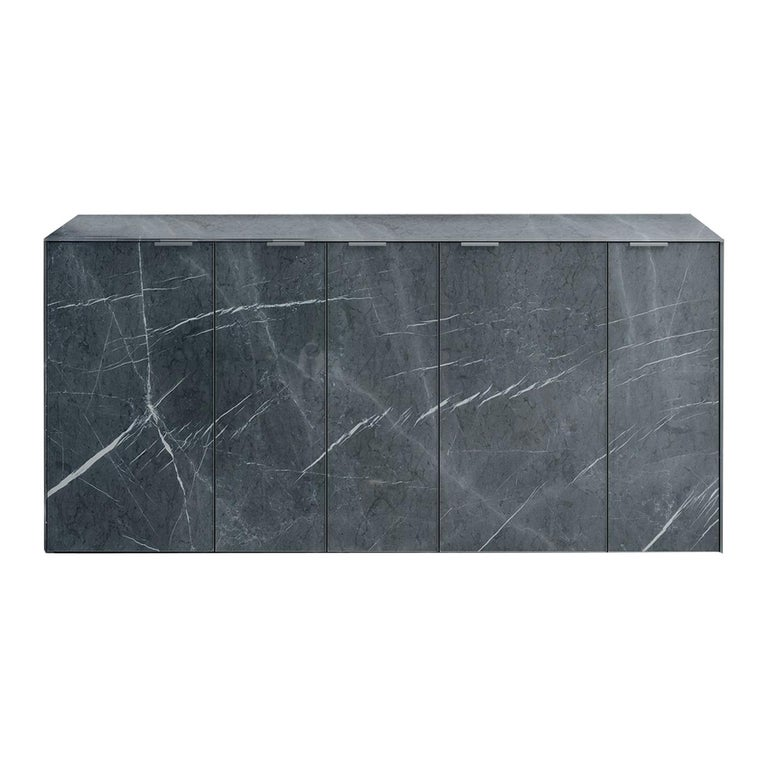 Profbox Stone Gray Sideboard For Sale