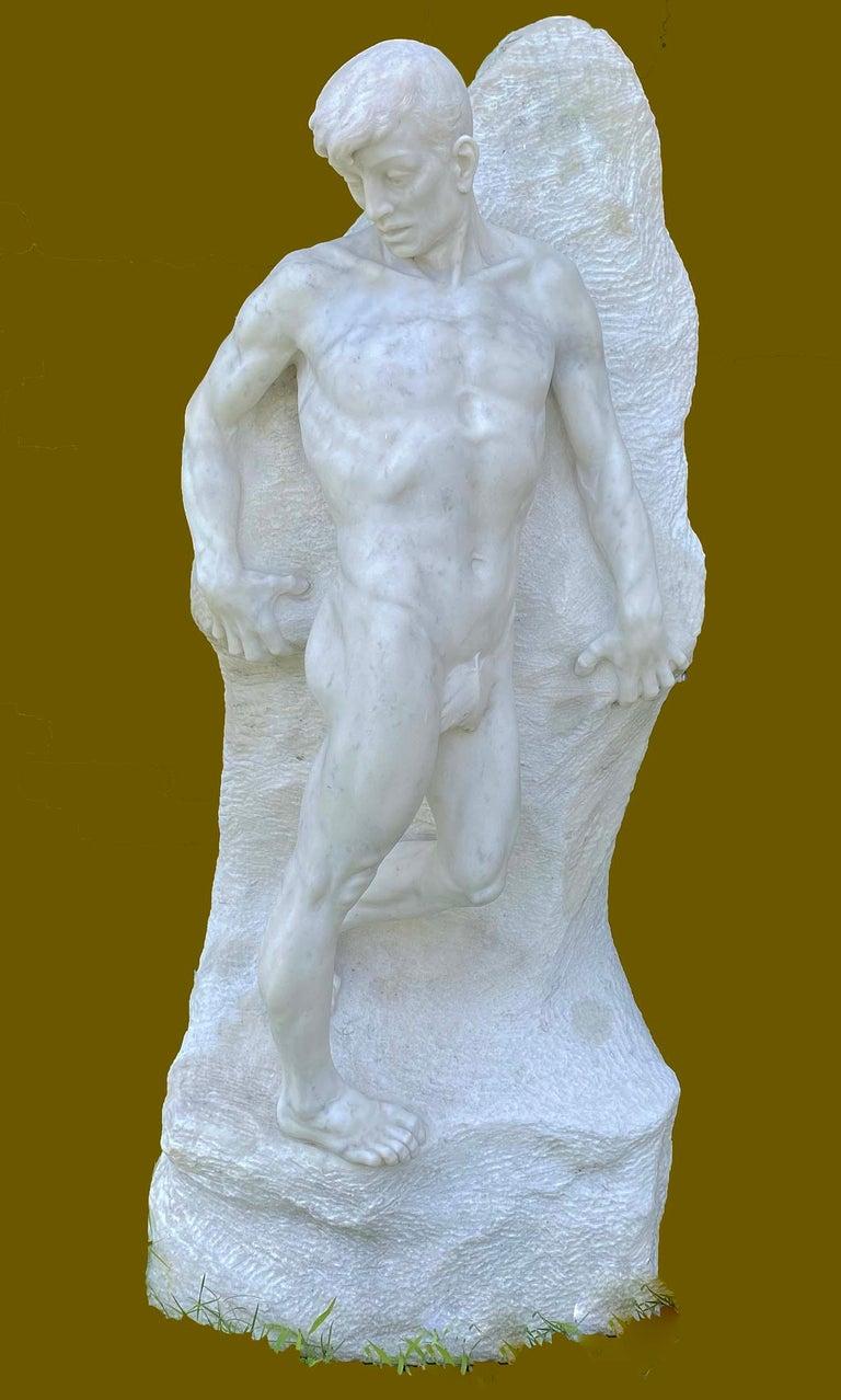 PROFESSOR ENRICO GARIBALDI Nude Sculpture - L'ABISSO