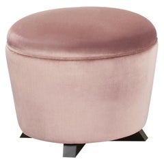 Promemoria Coccolone Pouf in Wood and Fabric by Romeo Sozzi