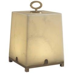 Promemoria Karina Table Lamp in Gold Onyx by Romeo Sozzi