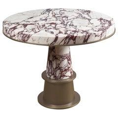 Promemoria Tornasole Table in Marble by Romeo Sozzi