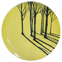 Promenons-Nous Platter, French Hand Painted