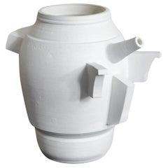 Promesas de Tierra turned ceramic Milk Jug 05