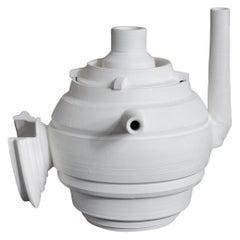 Promesas de Tierra turned ceramic Teapot 03